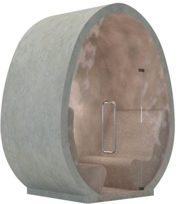 Sea Climate Chamber EGG-Inhalationskabine, Sauna, Dampfbad für Außen