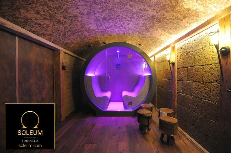 Aussen Sauna, Aussen Dampfbad von Soleum