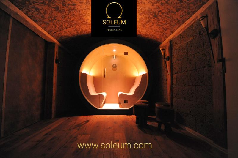 Außen Sauna, Außen Dampfbad von Soleum