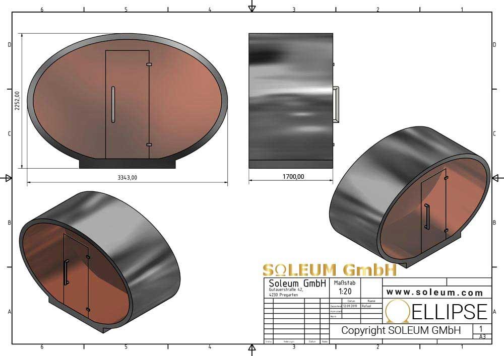 Soleum-ELLIPSE-Размер