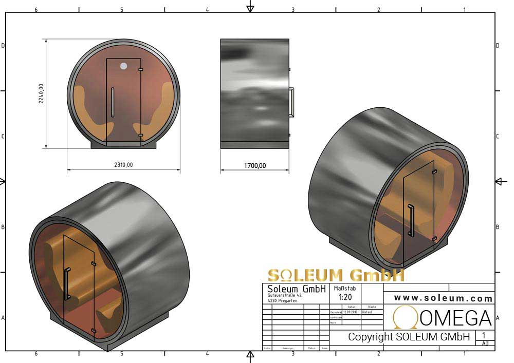 Soleum-OMEGA-Rozměry