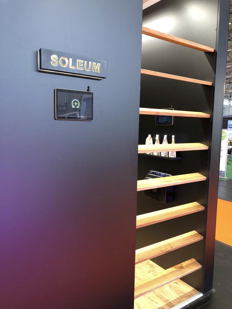 SOLEUM-sea-climate-cabin-Booth-Aquanale-Cologne