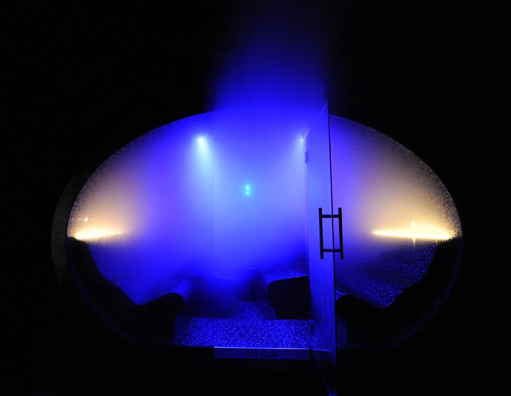 Soleum Ellipse - Black Pearl Meeresklimakabine Außendampfbad