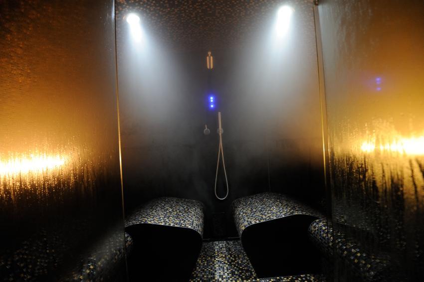 Soleum Ellipse - Meeresklimakabine Dampfbad für Außen