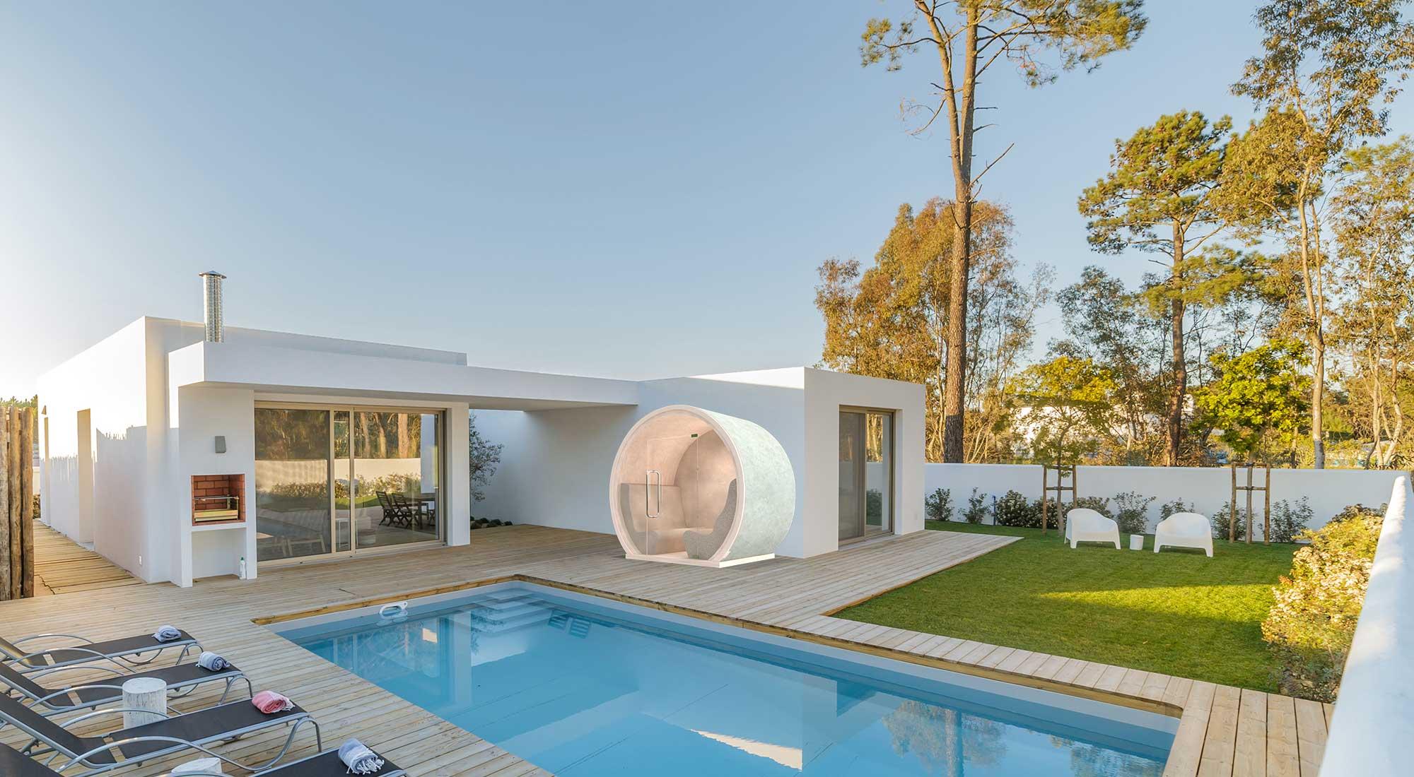 Luksus Rekreacyjne SPA SOLEUM – Kabina z Morskim Klimatem